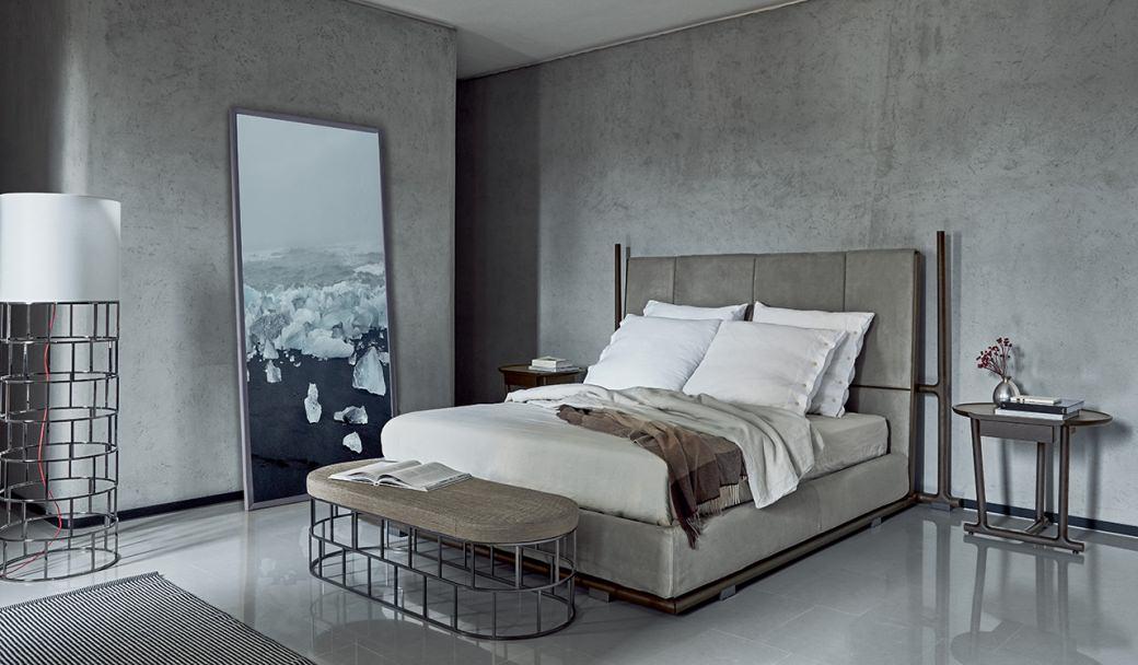 Icaro Bed, Flexform