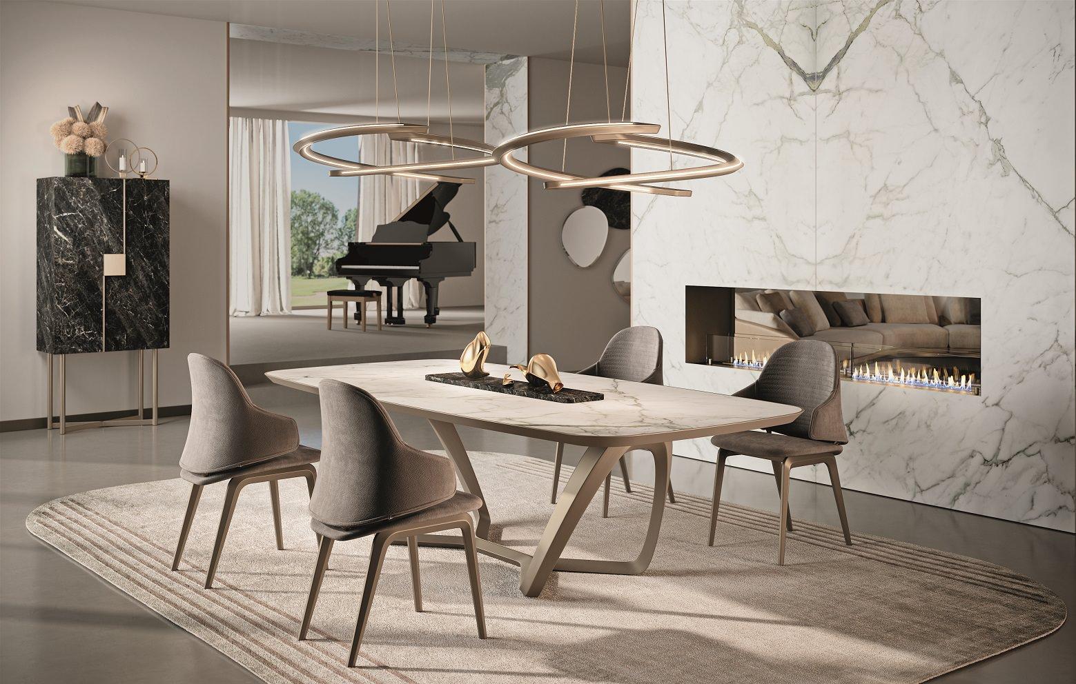 Bevelwood Table, Reflex Angelo